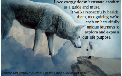 Love Energy Doesn't Ensnare