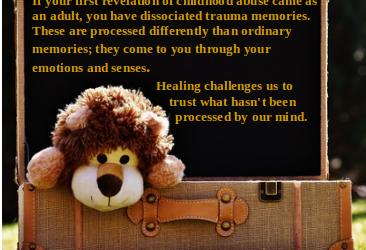 Trusting Dissociated Memories